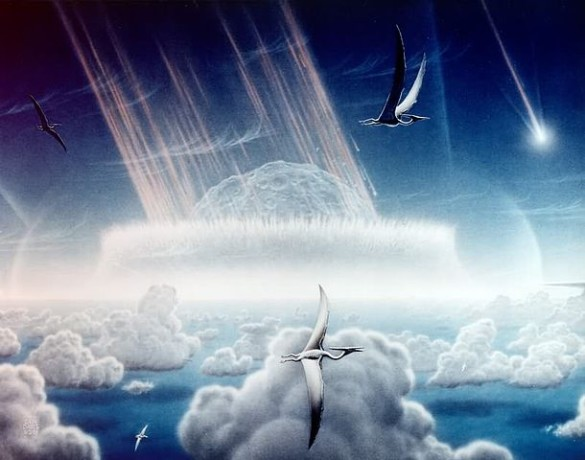 Asteroid strike that killed the dinosaurs